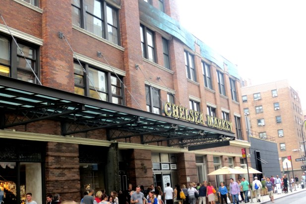 You can and eat and shop at the Chelsea Market