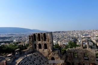 Teatro donde se celebraban danzas y cantos en honor a Dionisio