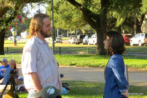Houston Eye Contact Experiment