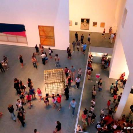 The Museum of Modern Art has more than 220,000 works of art of the last 150 years.