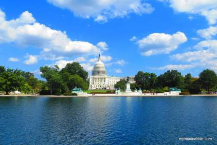 The Capitol Reflecting Pool completed in 1971.